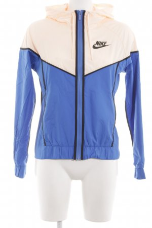 Nike Sportjack blauw-room casual uitstraling
