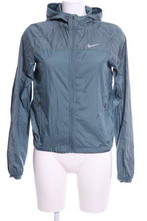 Nike Sportjacke blau Casual-Look