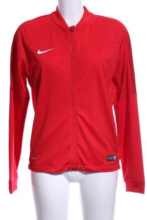 Nike Sportjacke rot Casual-Look