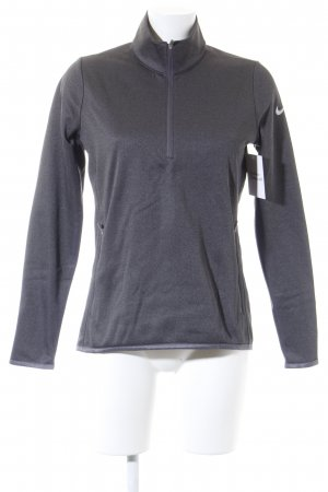 Nike Sports Jacket dark grey flecked casual look
