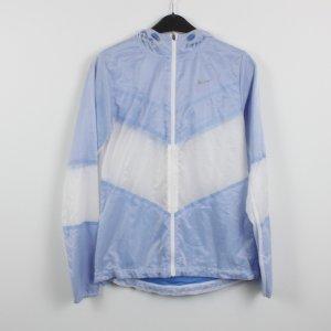 NIKE Sportjacke Windbreaker Gr. S hellblau weiß (18/10/442/K)