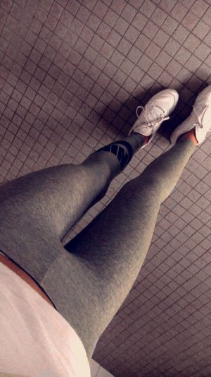 Nike Sportleggins grau