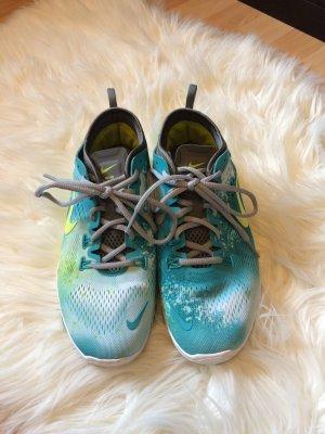 Nike Sportschuhe grün/blau
