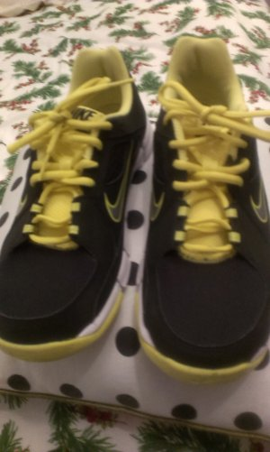 Nike Sneakers met veters zwart-neongeel