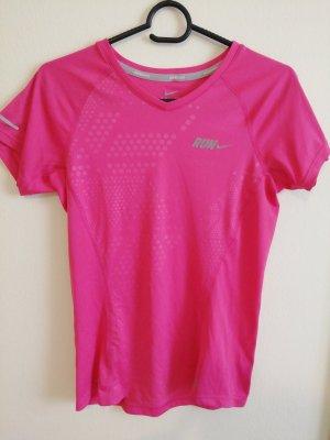 Nike Sportshirt magenta Polyester