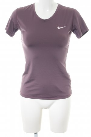 Nike Sports Shirt lilac casual look