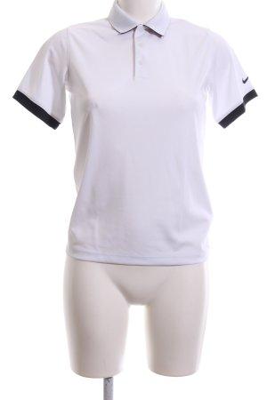 Nike Maglietta sport bianco-nero stile casual