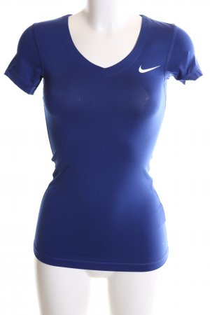 Nike Sports Shirt blue casual look