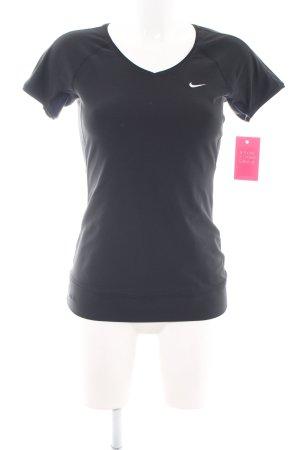 Nike Maglietta sport nero stile casual