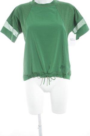 Nike Sportshirt grün Casual-Look