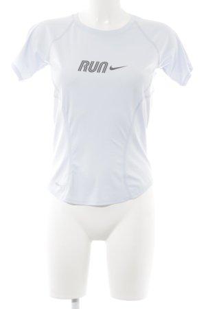 Nike Maglietta sport azzurro stile atletico