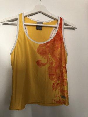 Nike Camisa deportiva naranja dorado-naranja claro