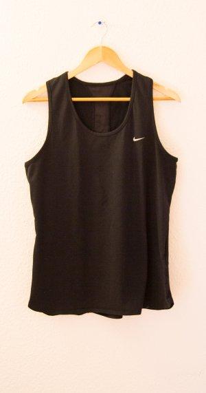 Nike Sportshirt in Schwarz