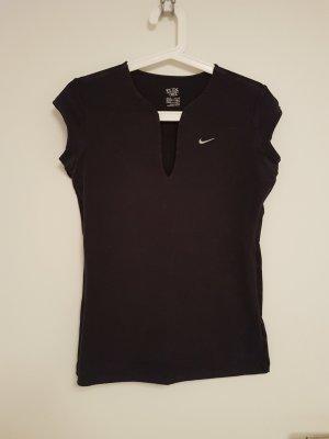 Nike Sportshirt mit Auschnitt