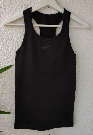 Nike Sportshirt zwart-grijs
