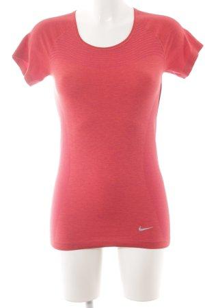 Nike Sportshirt rot sportlicher Stil