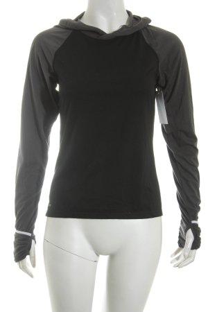 Nike Sportshirt schwarz-anthrazit sportlicher Stil