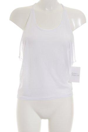 Nike T-shirt de sport blanc style athlétique
