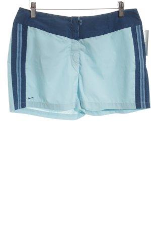 Nike Sportshorts babyblau-blau Casual-Look