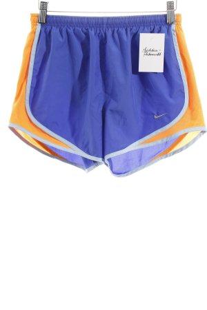 Nike Sportshorts blau-orange sportlicher Stil
