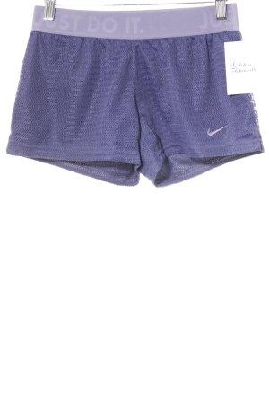 Nike Sportshorts dunkelviolett sportlicher Stil