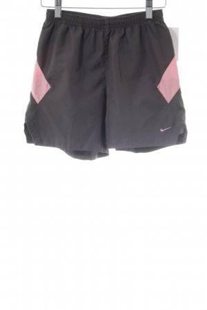 Nike Sport Shorts grey-pink simple style