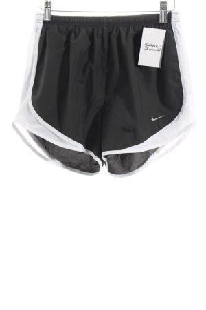 Nike Sportshorts grau-weiß sportlicher Stil