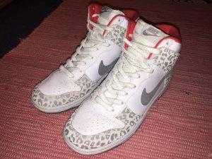 "Nike Sportswear Womens Dunk High Skinny ""White Leopard"""