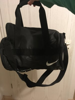 Nike Sporttas zwart-wit Polyester