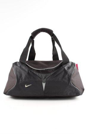 Nike Sporttas zwart-bruin simpele stijl