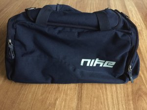 Nike Bolsa de gimnasio azul oscuro