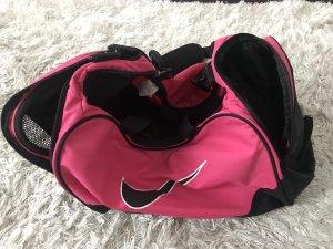Nike Sporttas zwart-neonroos
