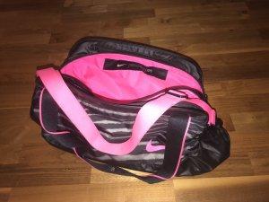 Nike Sporttas zwart-roze