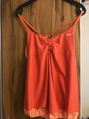 Nike Sports Shirt light orange-orange
