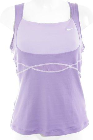 "Nike Sporttop ""Dri fit"" lila"