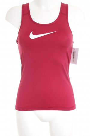 Nike Sports Tank dark red athletic style
