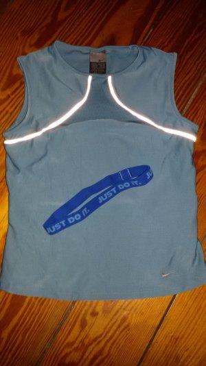 Nike Sporttop Gr.34 hellblau
