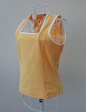 Nike Sporttop licht Oranje-wit Gemengd weefsel
