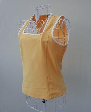 Nike Sporttop licht Oranje-wit
