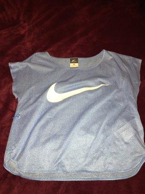 Nike Sporttop neon blauw