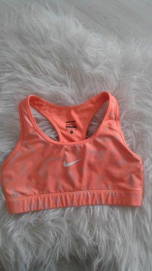 Nike Sporttop nude-licht Oranje