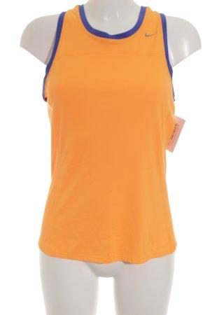 Nike Sporttop neonorange-neonblau sportlicher Stil
