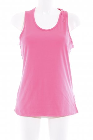 Nike Top deportivo sin mangas rosa neón-rojo frambuesa estilo deportivo