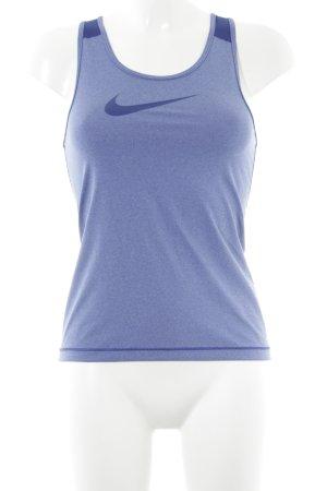 Nike Sporttop staalblauw-donkerblauw atletische stijl