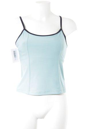 Nike Sporttop türkis-dunkelblau sportlicher Stil