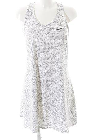 Nike Sporttop wit-antraciet Patroon-mengeling atletische stijl