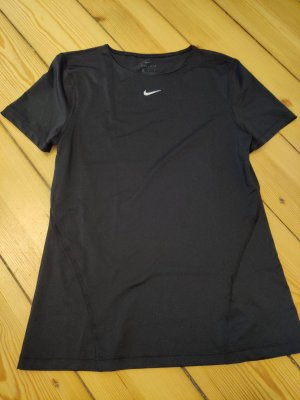 Nike Sportshirt wit-zwart