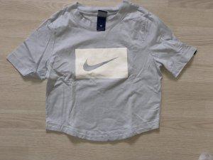 Nike Maglietta sport azzurro Cotone