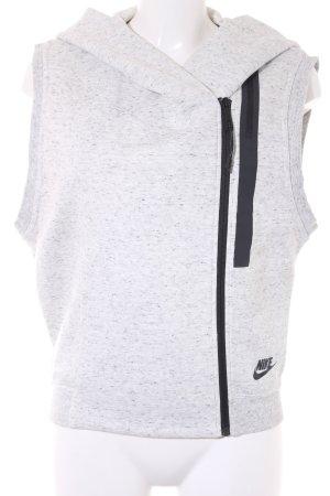 Nike Sportvest lichtgrijs atletische stijl