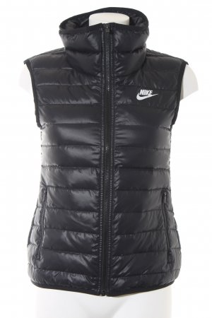 Nike Gilet matelassé noir style simple